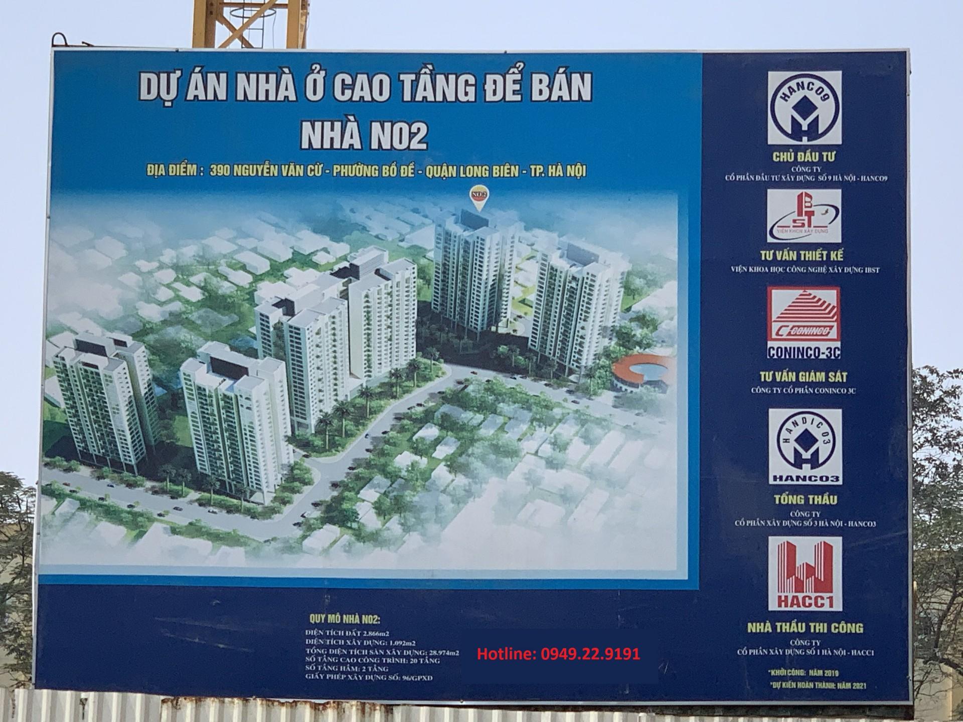 Chủ đầu tư Hanco 9 Berriver Long Biên