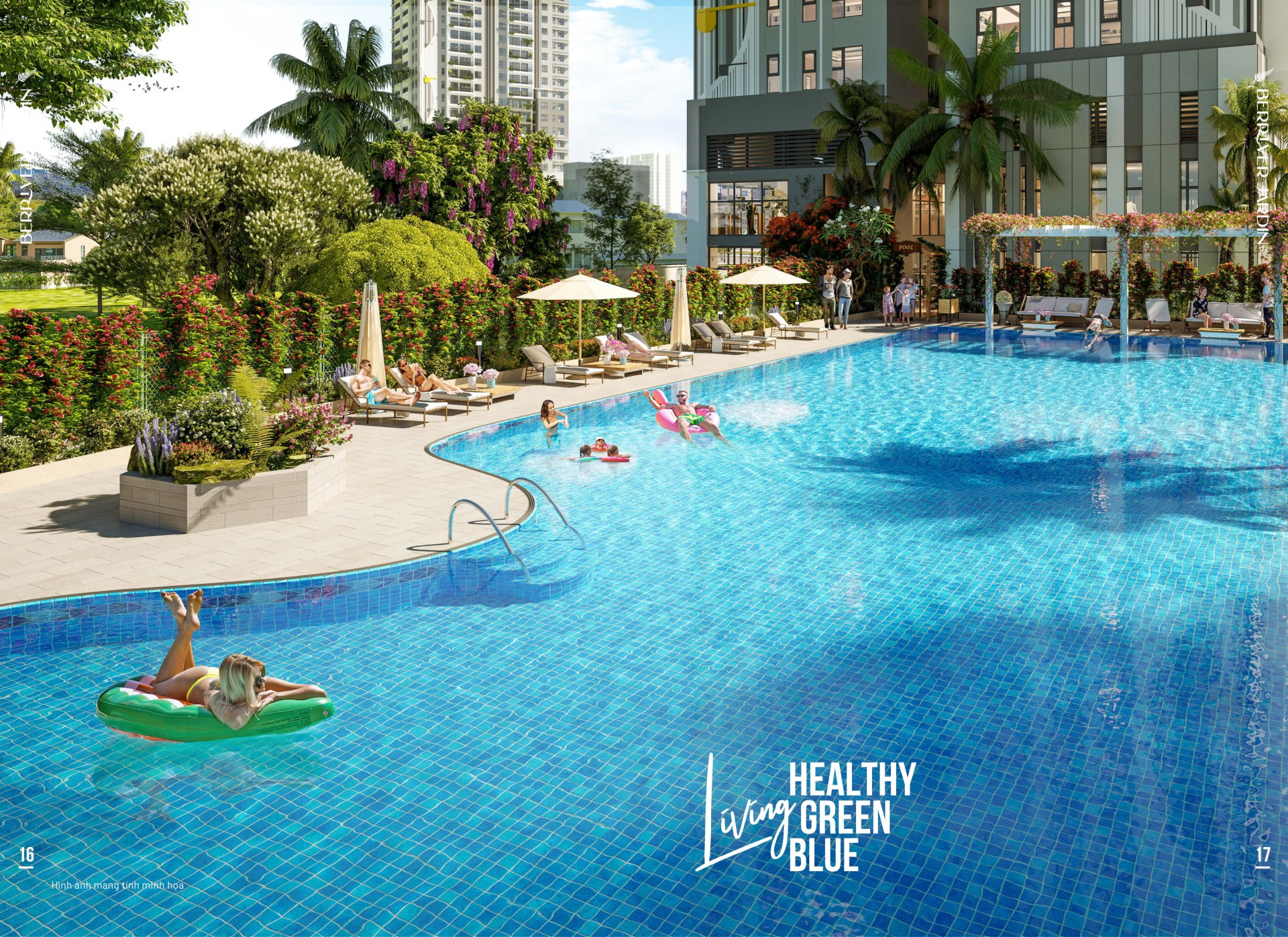 Bể bơi Berriver Jardin